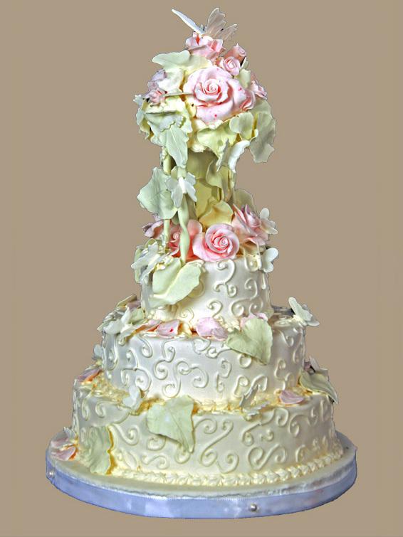 Hochzeits-Torte Romantisch auf Ja.de