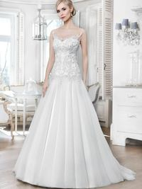 Brautkleid 16024T von Mode de Pol
