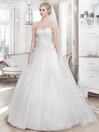 Brautkleid 16053T von Mode de Pol
