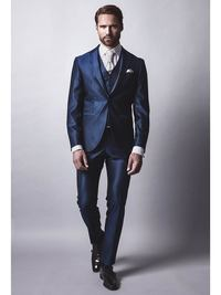 Anzug CONTE-BLUE von Cavaliere