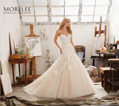 Brautkleid 8101 von Mori Lee