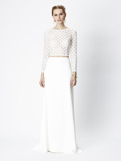 Brautkleid Amanda von Rembo Styling