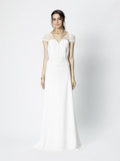 Brautkleid Elizabeth von Rembo Styling