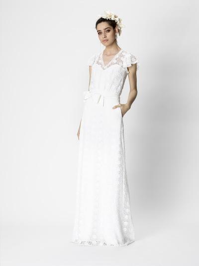 Brautkleid Monica von Rembo Styling