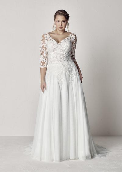 Brautkleid ETOLIA PLUS von Pronovias