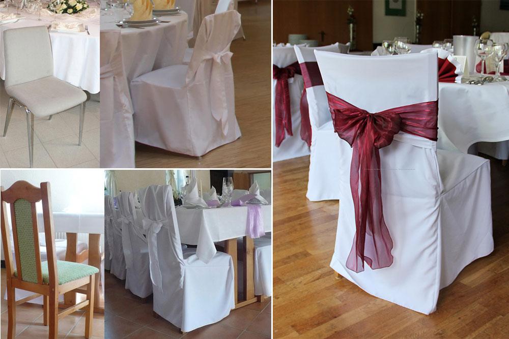 Hochzeitsdekoration und hussen mieten tipps von experten for Hussen mieten