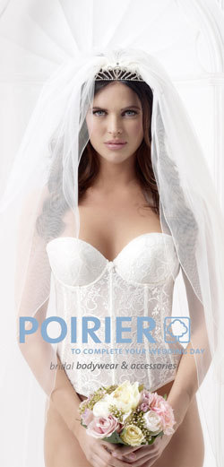 Poirier - Brautdessous und Brautaccessoires