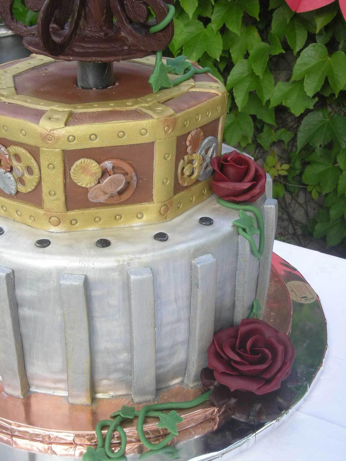 Hochzeits Torte Gothic Auf Ja De