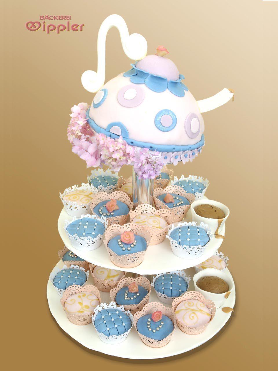 hochzeits torte kaffeezeit cupcakes auf. Black Bedroom Furniture Sets. Home Design Ideas