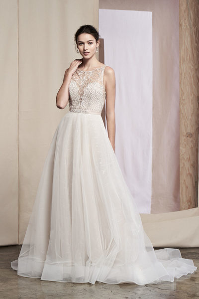 Brautkleid 99086SK Dahlia Train