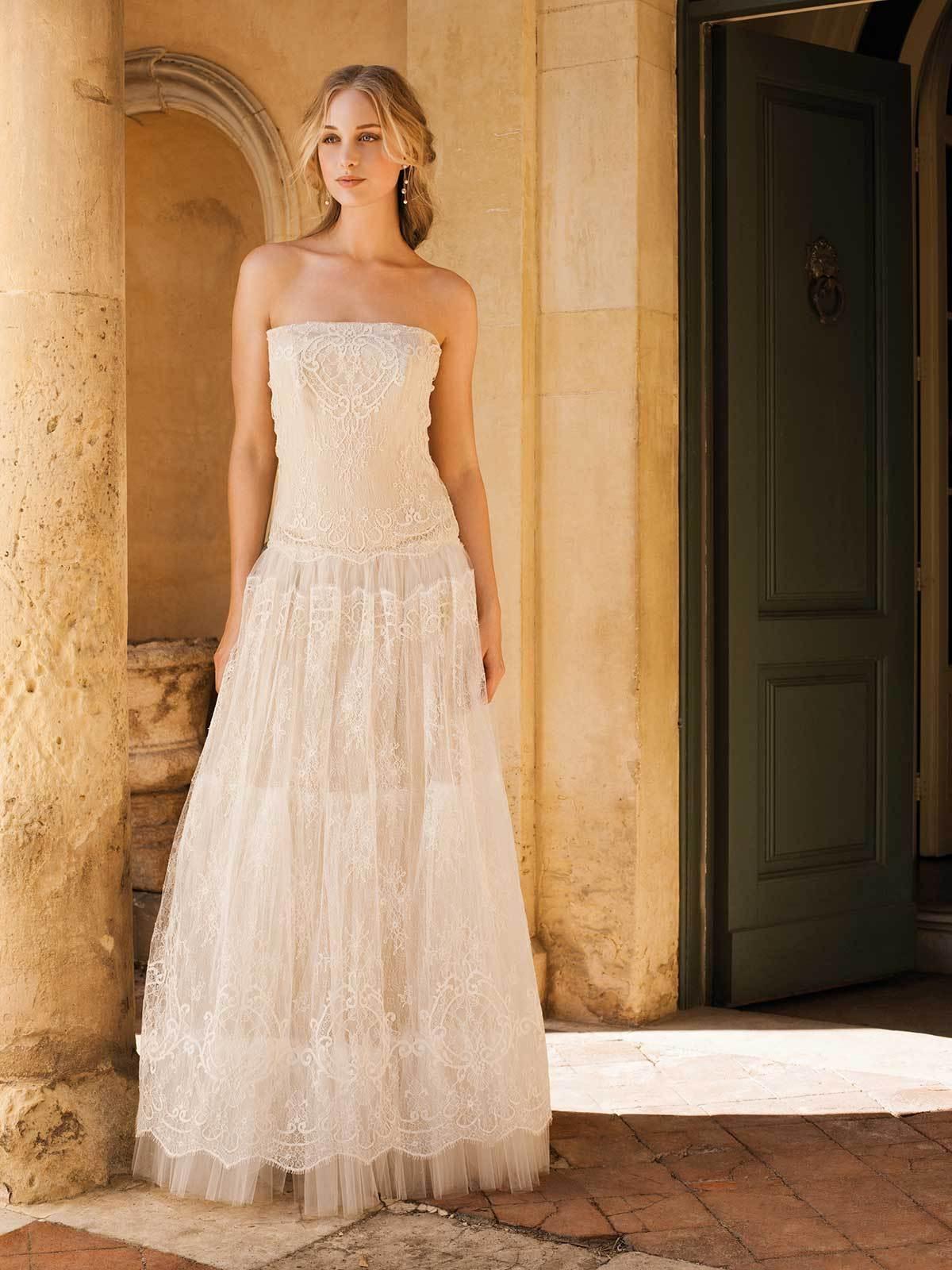 Brautkleid Sandy Von Rembo Styling Auf Ja De