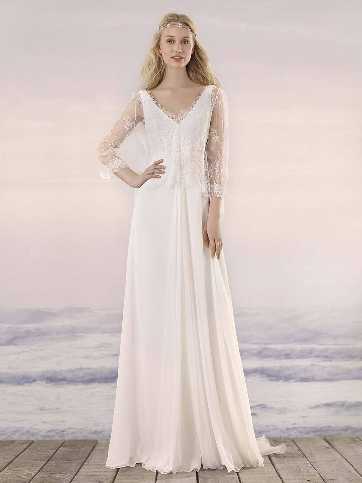 Brautkleid Elsa von Rembo Styling auf Ja