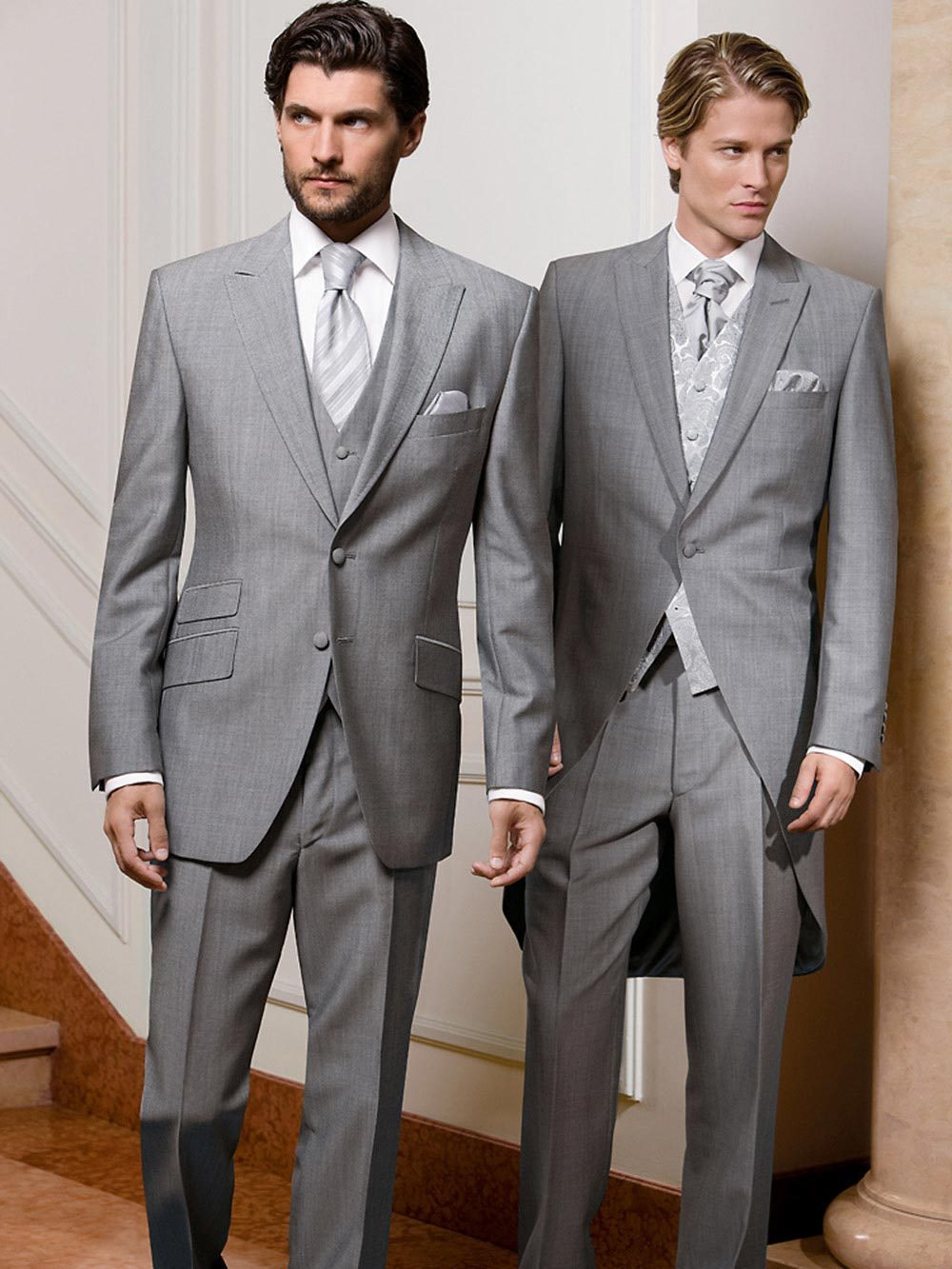 günstig kaufen schnüren in Großbritannien Anzug Wilvorst Cut hellgrau von Wilvorst auf Ja.de