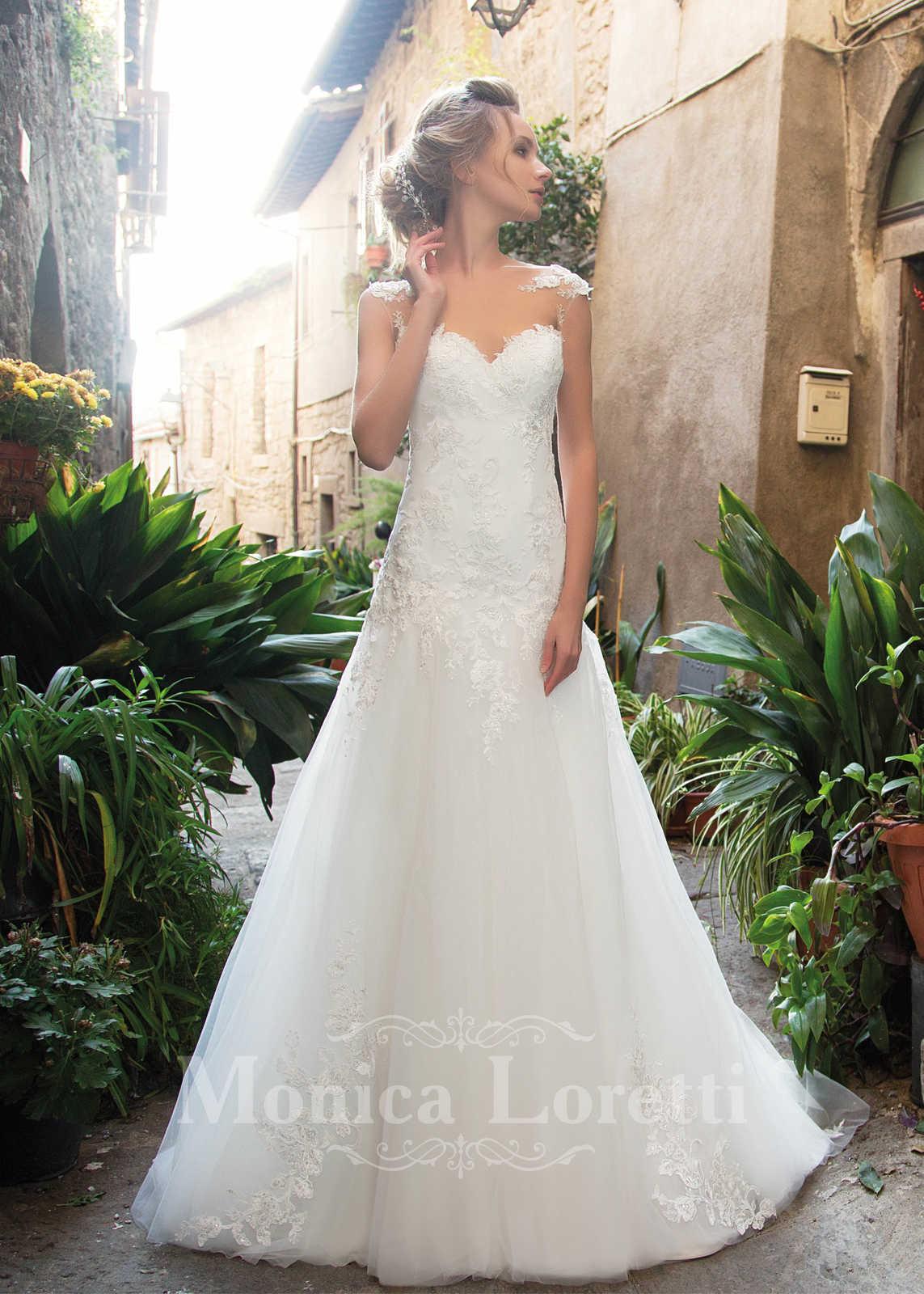 Brautkleid Onelia von Monica Loretti auf Ja.de