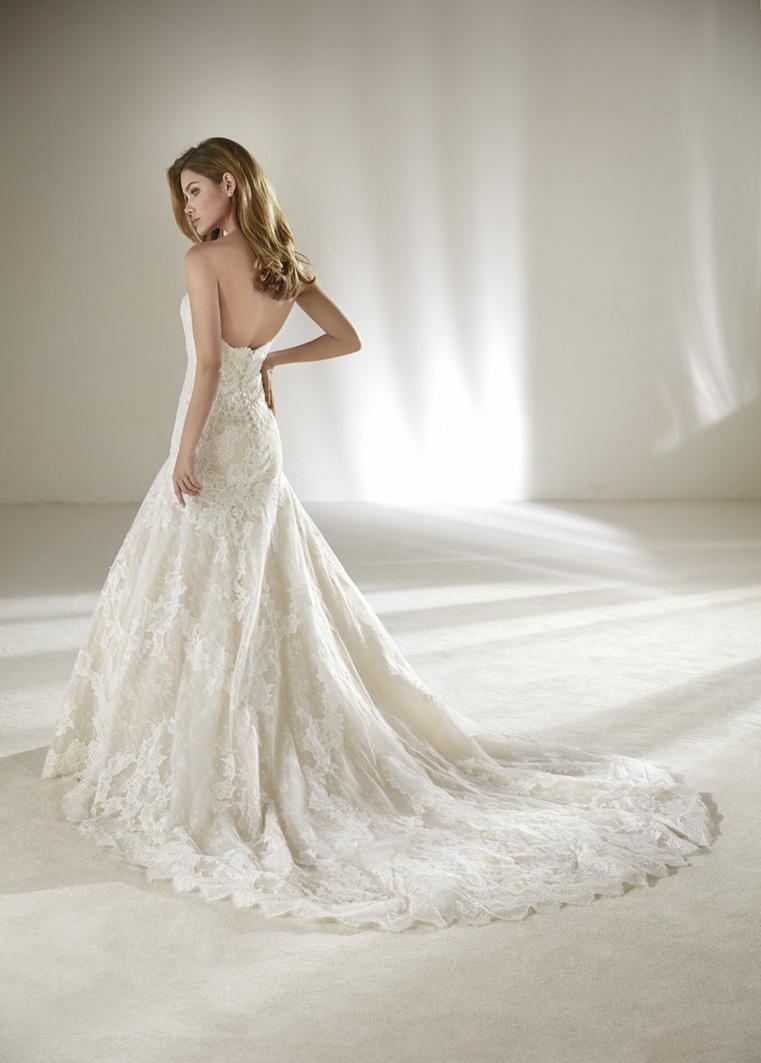Brautkleid DRUIDA PETITE von Pronovias auf Ja.de