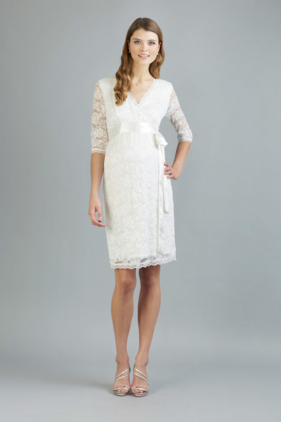 Brautkleid Phillipa ivory short
