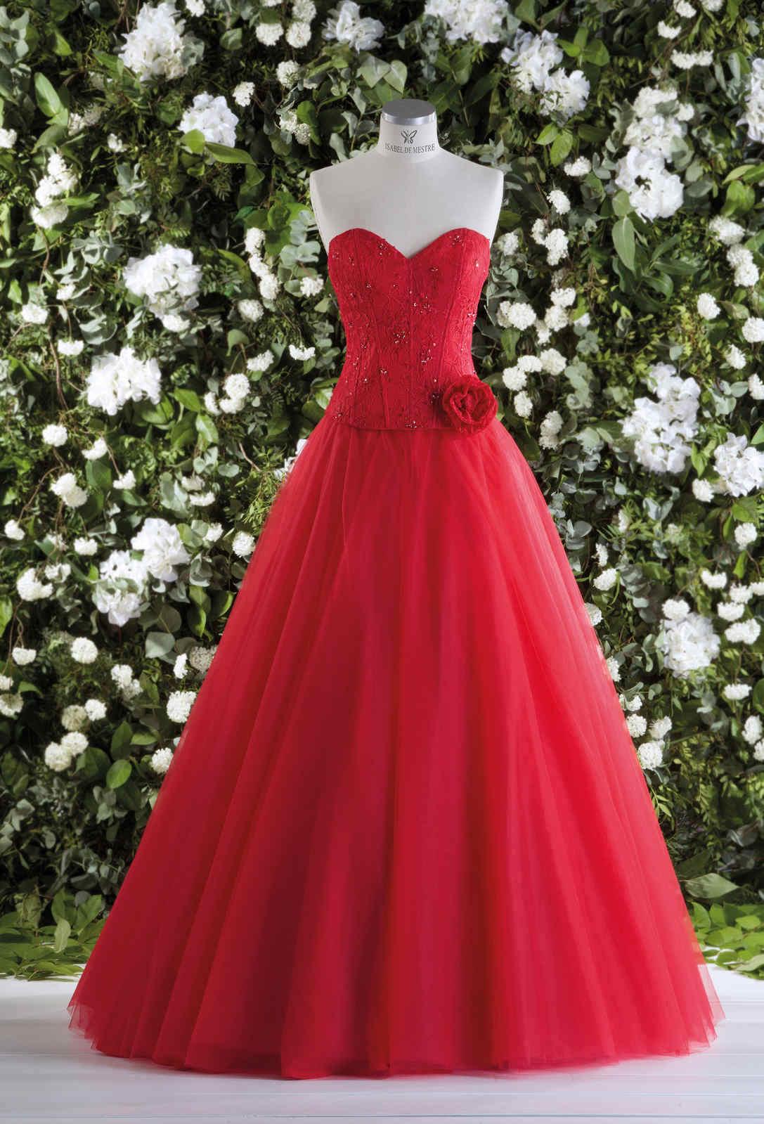 Brautkleid 1015 LUCRECIA von Isabel de Mestre auf Ja.de