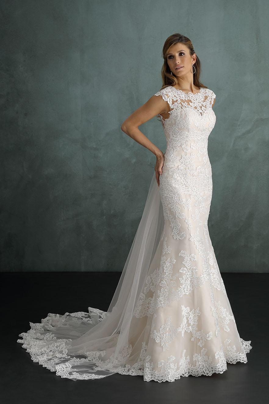 Brautkleid 9405pu Von Pure Auf Ja De